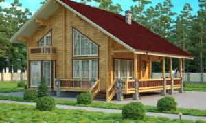 Дом из бруса пермь