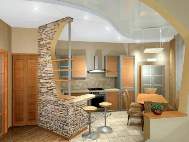 Ремонт на кухне в Перми