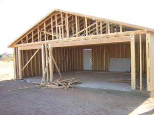 Деревянный гараж, своими руками