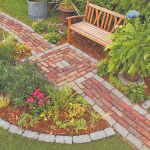садовые дорожки с малыми затратами