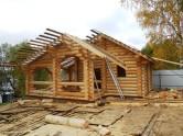 Срубы домов из бревна, недорого
