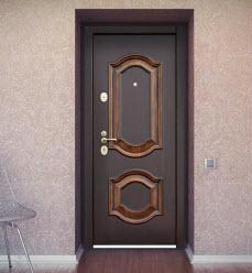 входных стальных дверей