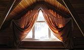 Внутренняя отделка, римские шторы